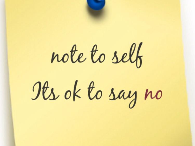 It's Okay to say No